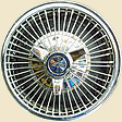 Chevy Corvair Chrome Wheel