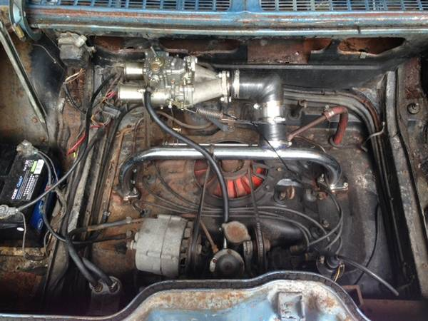 1966 500 110 Pg Corvair With A Side Draft Carb