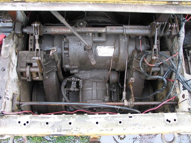 Hydrostatic Transmission Mini Tank : Corvair powered mini tank for sale on up craigslist