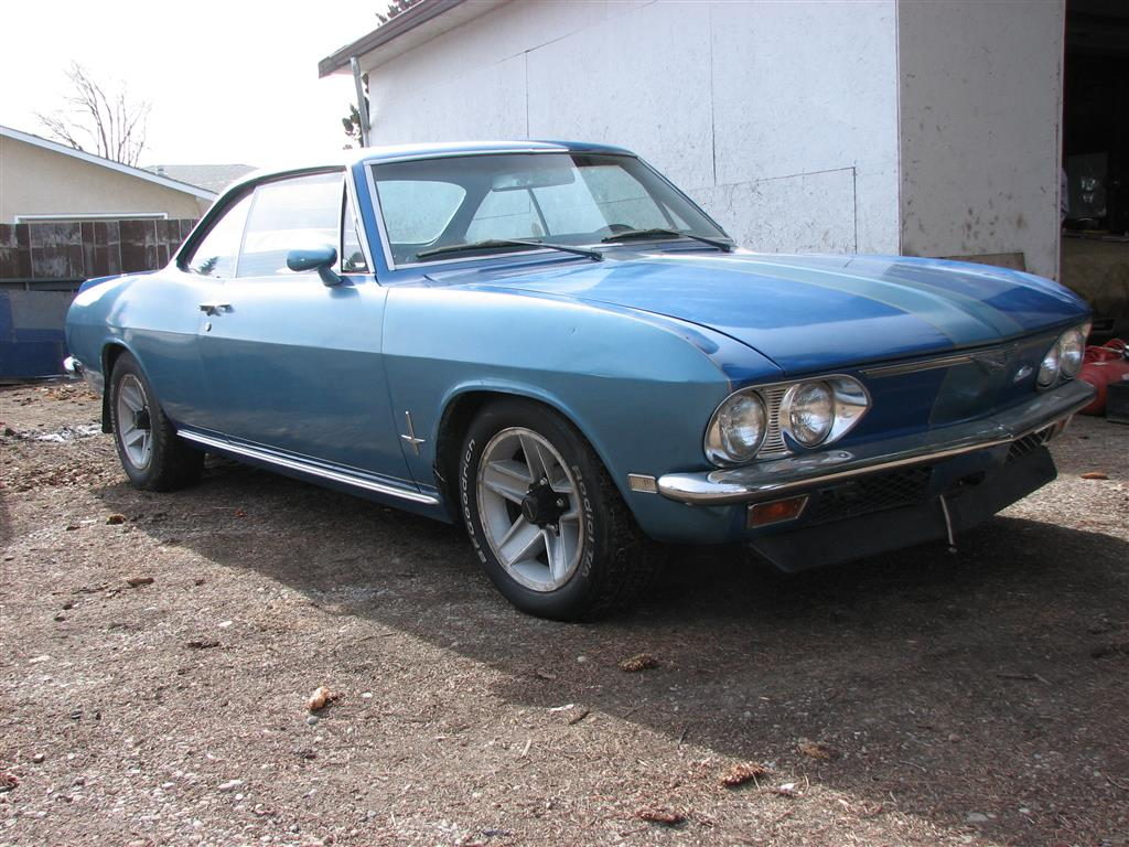Any well sorted V8 Corvairs for Sale
