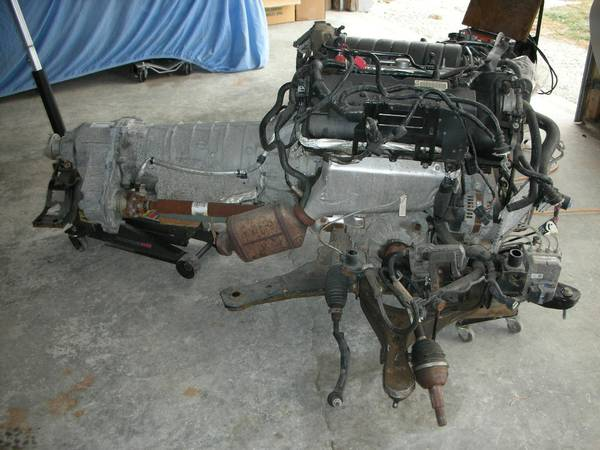 Mid Rear Engine Concept 2006 Cadillac Sts Awd Engine