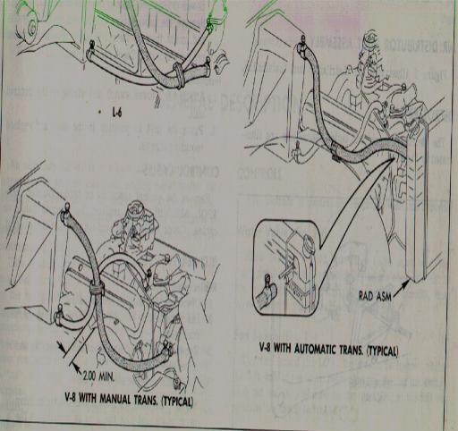 Sbc heater hose diagram