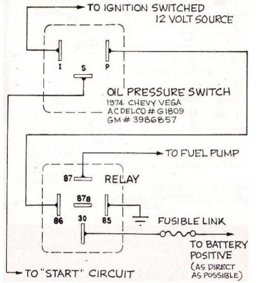 electric fuel pump wiring diagram vega wiring diagram 1973 chevrolet vega wiring diagram