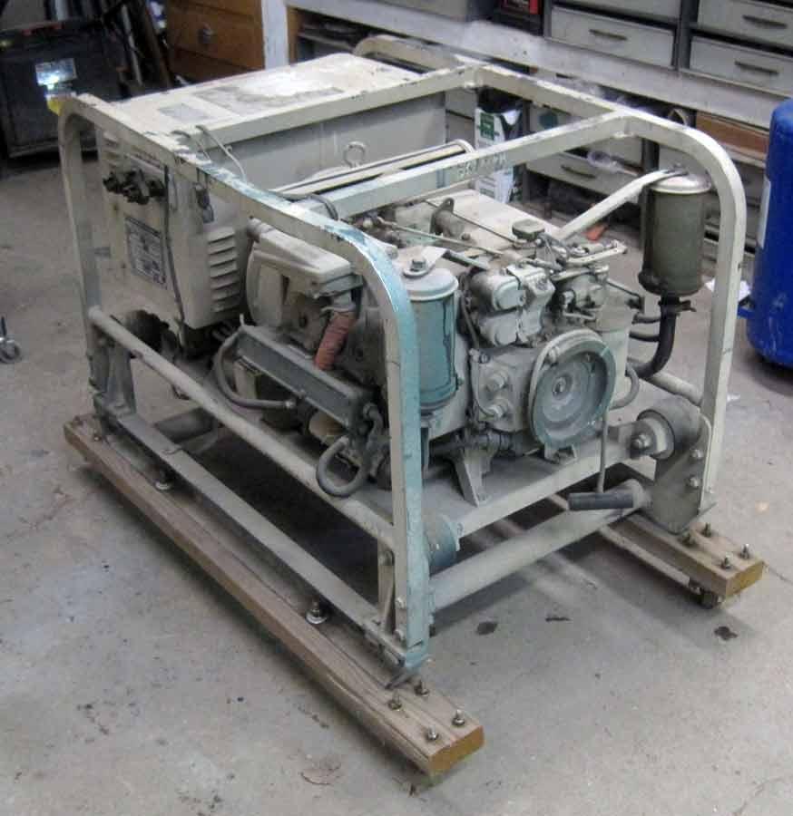 OT need Military Generator engine ID