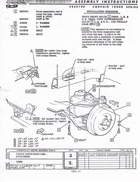 LM front suspension removal