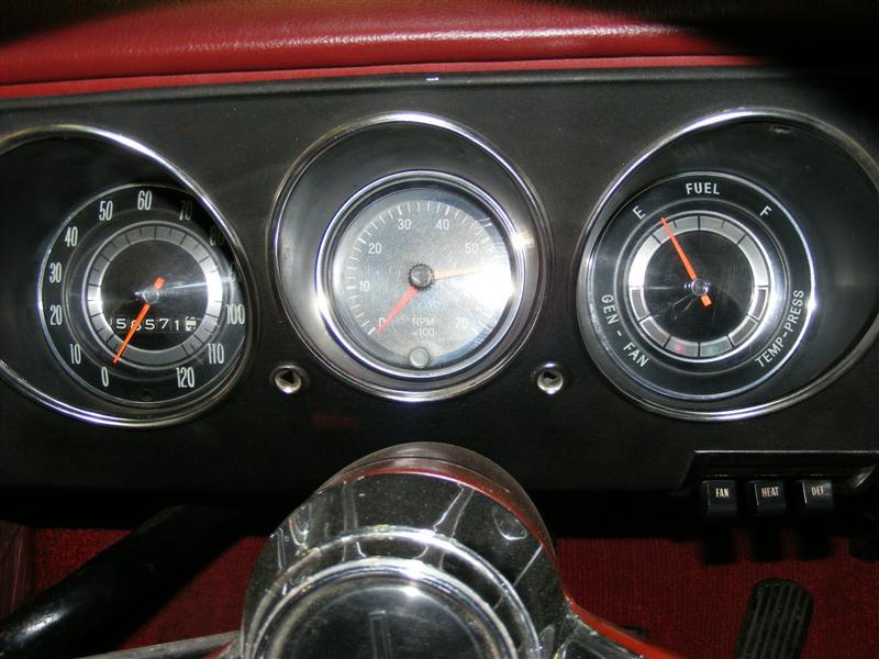 motor tachometer wiring lm monza dash center pod options  lm monza dash center pod options