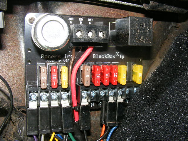Replacement Fuse Panel Product-UpdateCorvair Center