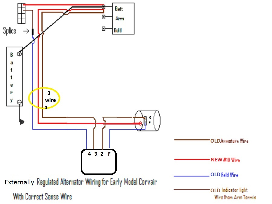4 Wire Voltage Regulator Wiring Diagram - Wiring Diagram