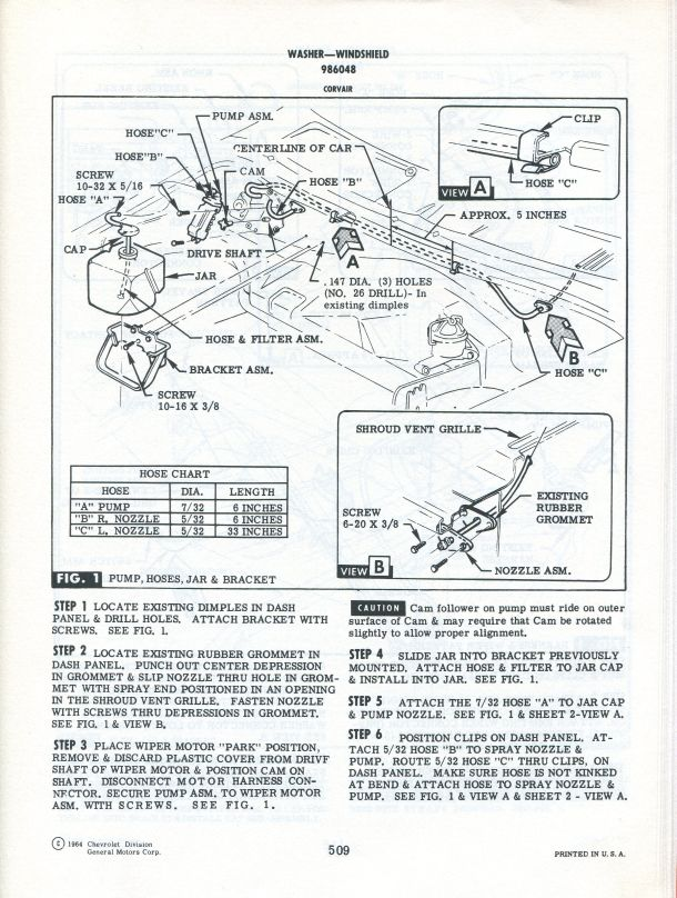 [SCHEMATICS_48YU]  What's the difference between a 65 v 67 wiper switch? | 1966 Corvair Two Speed Wiper Wiring Diagram |  | Corvair Center