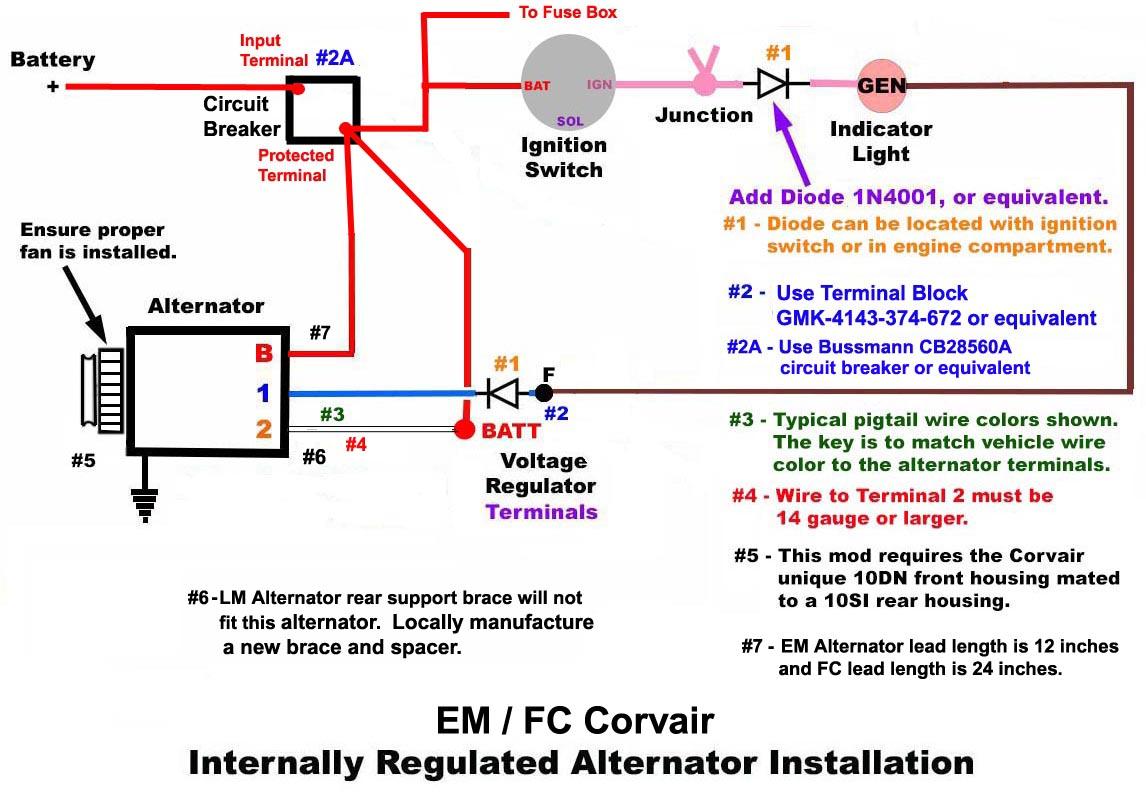 Gen Light Not Working On 64 Vair Pigtail Wire Diagram Attachments
