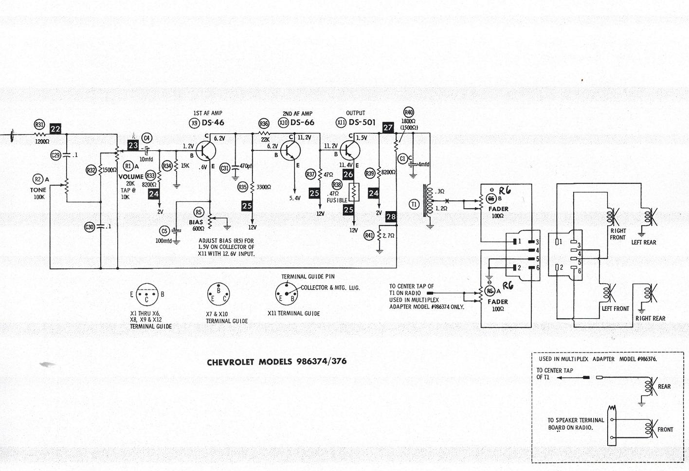 Found A Delco Stereo Multiplex Schematic