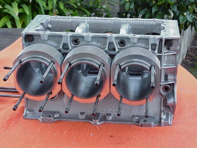 Salih Alum Steel Corvair Eng Cylinders