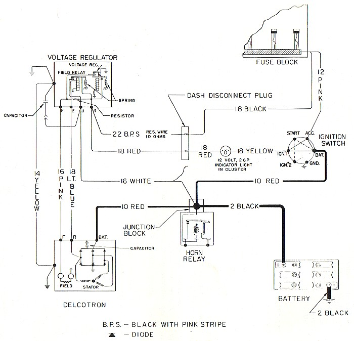 4 Wire Alternator Wiring Diagram – Annavernon – readingrat.net