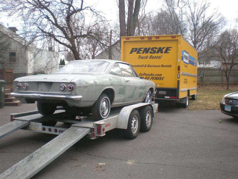 About A Trailer Just To Haul Corvairs