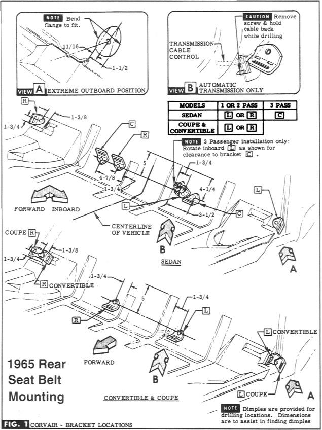 LM Rear Seat Belts