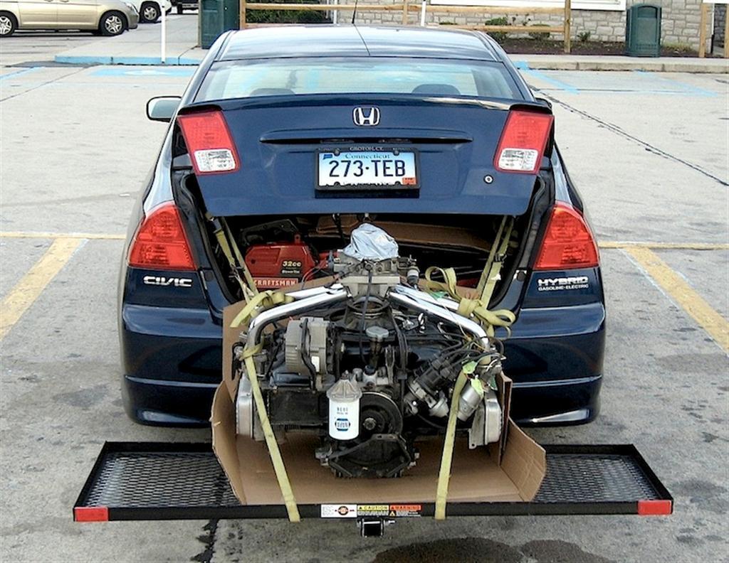 Honda Anderson Sc >> Honda Engine to Corvair Conversion (KEP Adapter)