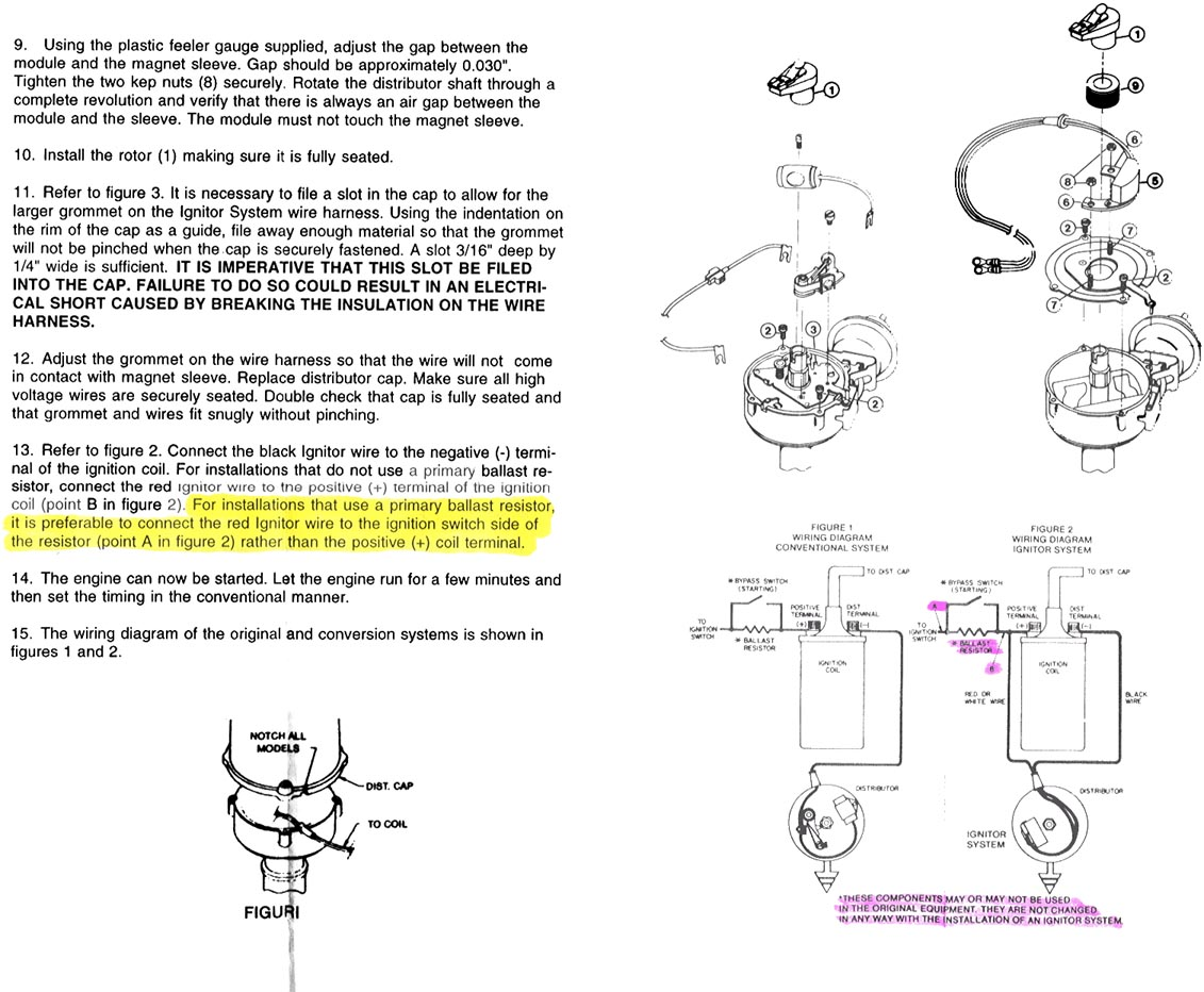 Does Anyone Have Any Idea Of What The Correct Air Gap Is For A Pertronix Ignitor Wiring Diagram Attachments