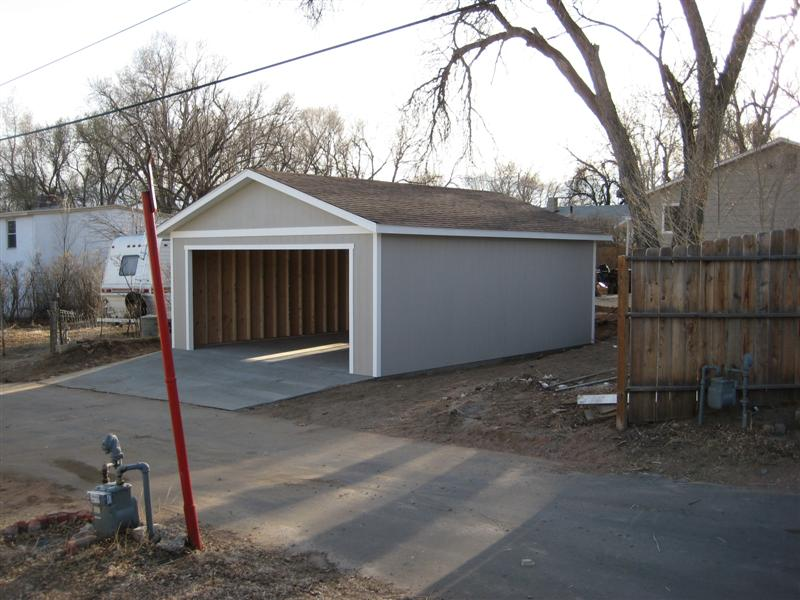 What 39 S A Wood Garage Cost To Build