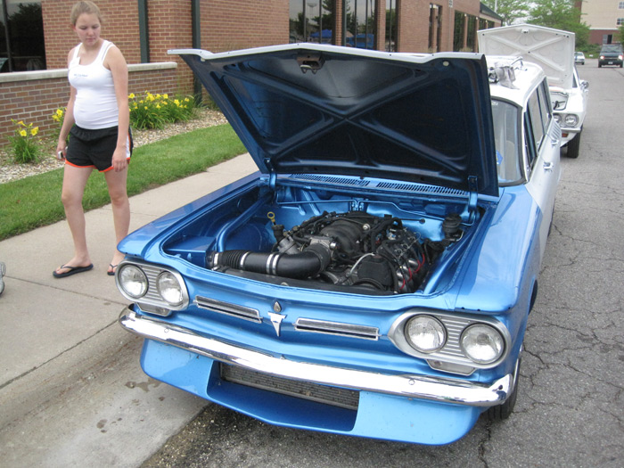 Hqdefault likewise File Php File Filename Img likewise Fa B Ee C A Ae Be A C additionally Ft X Ft Blue And White Tent With Collectible Swap Meet also Orig. on corvair frame swap