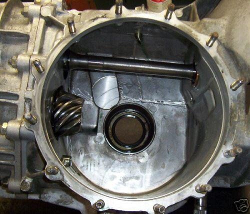 Porsche 911 Engine Weight: Upside Down Porsche 915 Transaxle