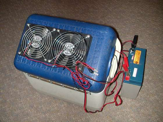 thermador car cooler instructions