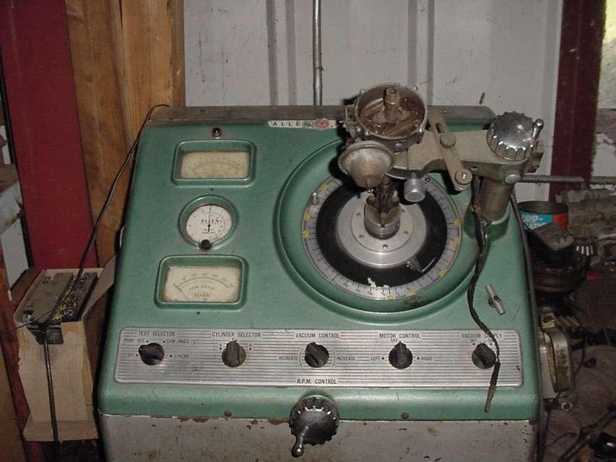 Distributor Set Up Machine