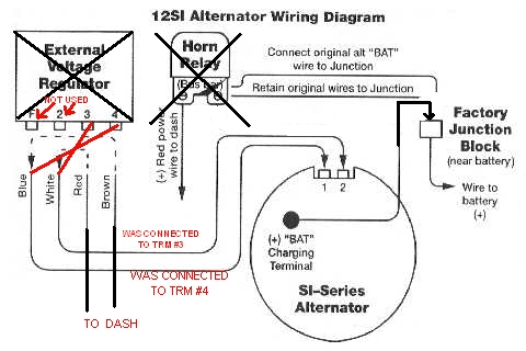 10 Si Alternator Wiring Diagram 3 Wire Alternator
