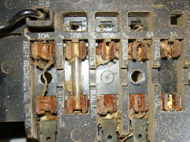 62 fuse box help  corvair center