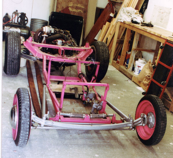 Rat Rod Plans Based On '63 Front End And Power Train