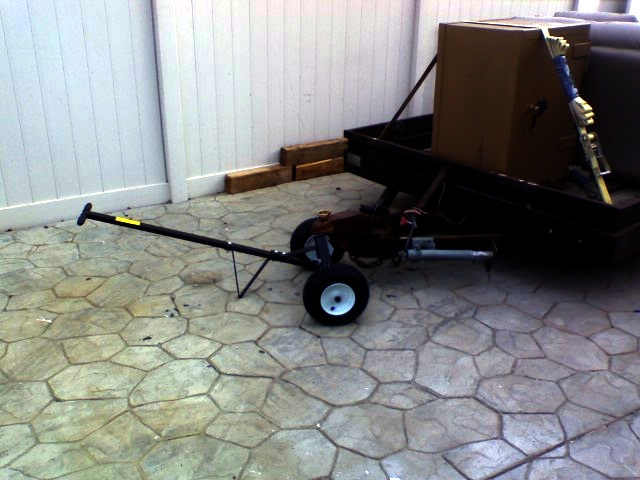 O t harbor freight trailer dolly is ok for Outboard motor dolly harbor freight