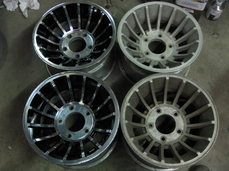 Jeep With Rims >> OT: Looking for older style Western wheel Turbines for the Jeep