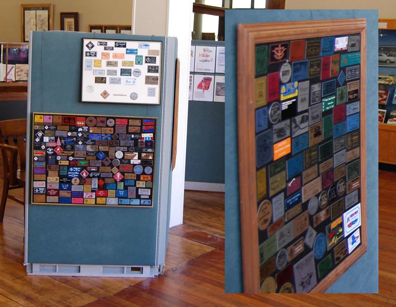 Post Your Dash Plaque Collection - Car show dash plaque display