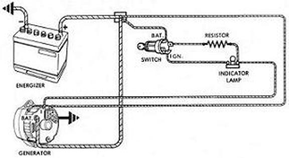 wiring diagram for early corvair conversion from