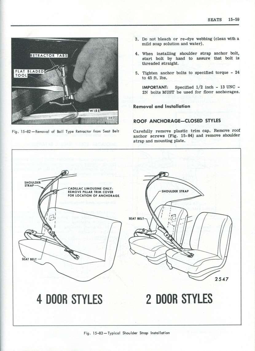Vair seat belts