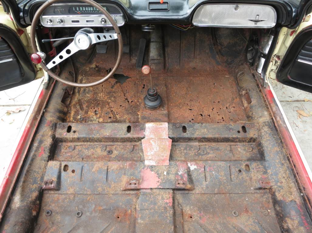 Floor Pan and Interior Project