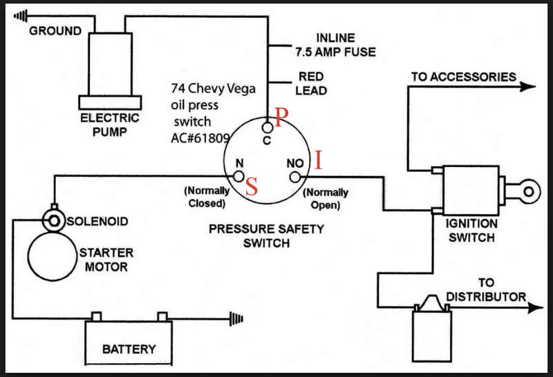 31 Oil Pressure Switch Wiring Diagram