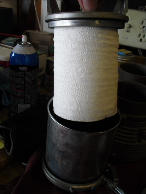 Corvair Remote Toilet Paper Roll Oil Filter Richard1