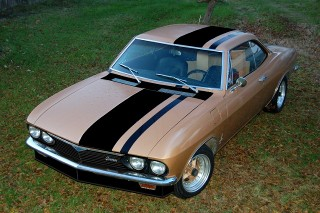 1967 Corvair Monza 140/4-speed
