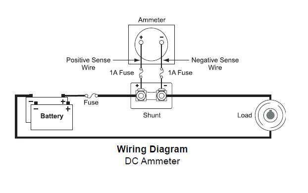 amp gauge wiring diagram amp image wiring diagram ammeter gauge wiring diagram wiring diagram and hernes on amp gauge wiring diagram