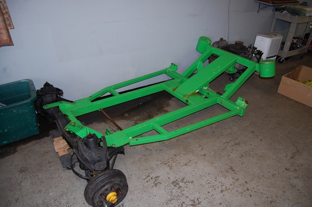 New Corvair Dune Buggy Frame - with questions!