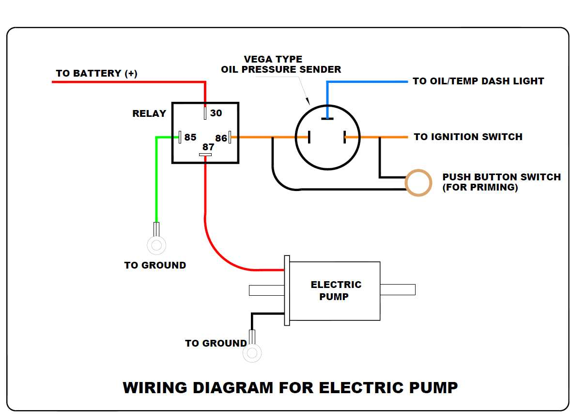 diagram of the fuel pump sensor help, electric fuel pump wiring