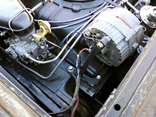 Philside One Wire Alternator Bracket Build