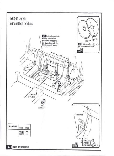 EM Rear Seat Belt Installation